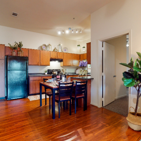 Open Concept Living Area | The Edge on Hovey | Apartments in Normal, IL