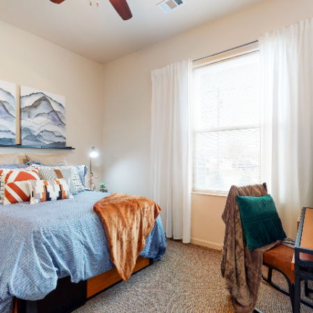 Large airy bedroom | The Edge on Hovey | Apartments in Normal, IL