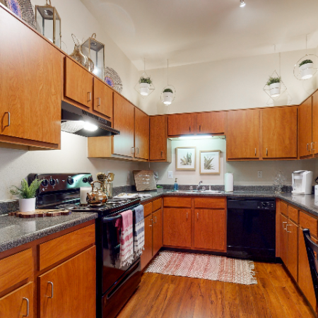Prep Friendly Kitchen | | The Edge on Hovey | Apartments in Normal, IL