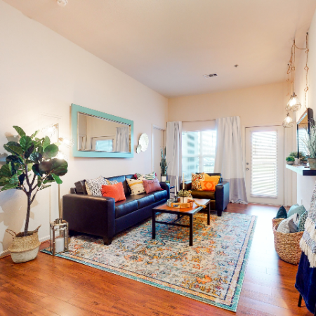 Open Concept Living Area | | The Edge on Hovey | Apartments in Normal, IL