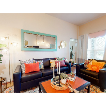 Living Room | The Edge on Hovey | Apartments in Normal, IL