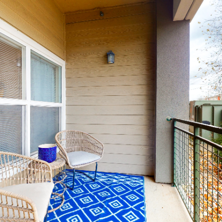 Large Patio | The Edge on Hovey | Apartments in Normal, IL