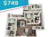 3 bedroom flash sale