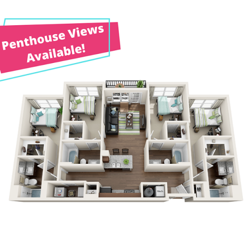 Penthouse Views Available