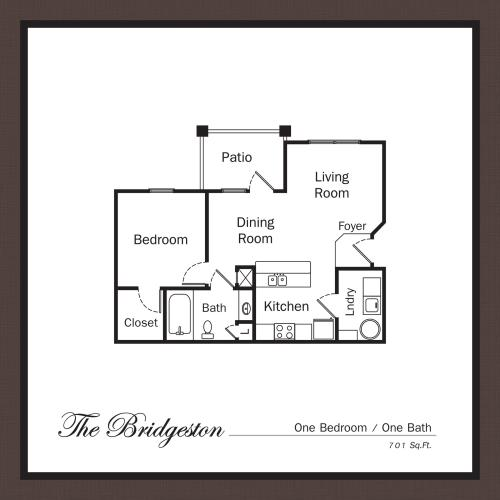 Floor Plan 2 | Apartments For Rent In Mooresville NC | Legacy Village