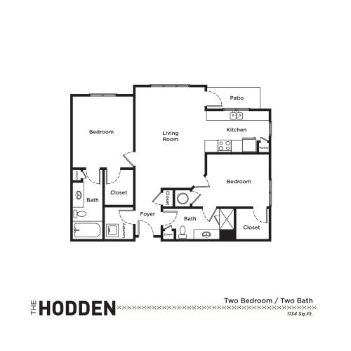 Floor Plan 3 | Apartments In Fort Mill SC | Kingsley Apartments