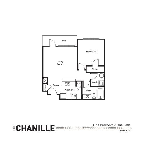 Floor Plan 2 | Apartments For Rent Fort Mill SC | Kingsley Apartments