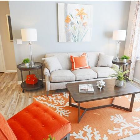 Luxurious Living Room   Apartments In Fort Mill SC   Kingsley Apartments