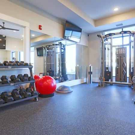 Resident Fitness Center | Apartments In Fort Mill SC | Kingsley Apartments