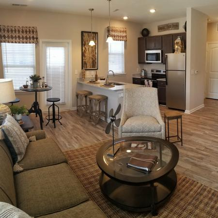Luxurious Living Room | Apartments In Fort Mill SC | Kingsley Apartments