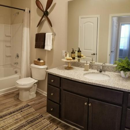 Elegant Master Bathroom | Apartments In Fort Mill SC | Kingsley Apartments