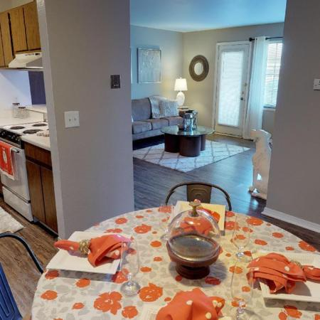 Spacious Dining Room | Apartments in Grand Rapids | Central Park Place
