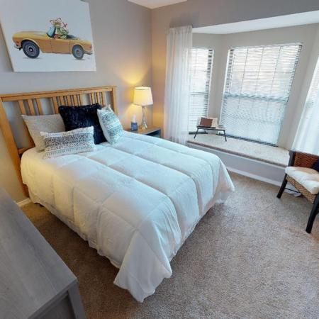 Spacious Master Bedroom | Pet Friendly Apartments in Grand Rapids MI| Central Park Place