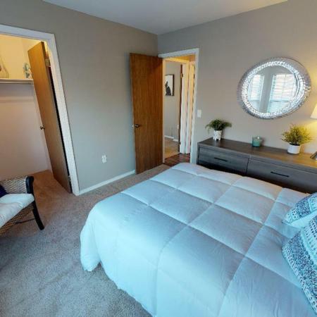 Elegant Master Bedroom | Grand Rapids Rentals | Central Park Place
