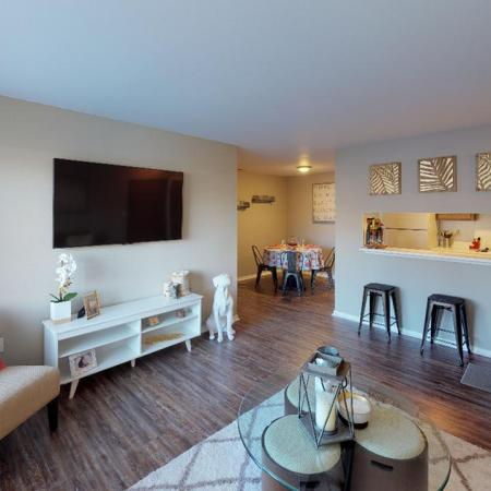 Spacious Living Room | Apartments in Grand Rapids | Central Park Place