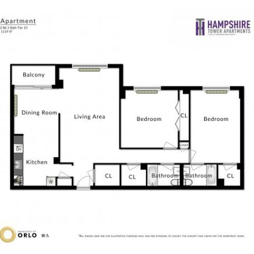 Hampshire Tower Apartments