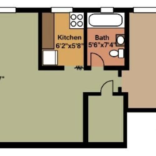 2 Bed / 1 Bath Apartment In Arlington VA