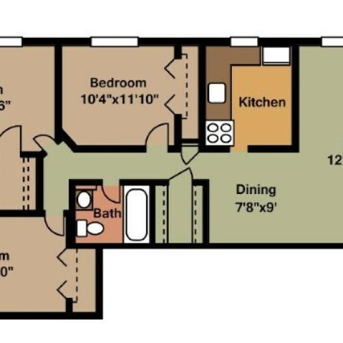 Dorchester Apartments: 2 Bed / 1 Bath Apartment In Arlington VA