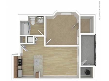 Andante Apartments Aria Floor Plans