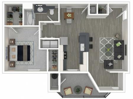 Broadleaf Apartments Roma Floor Plans