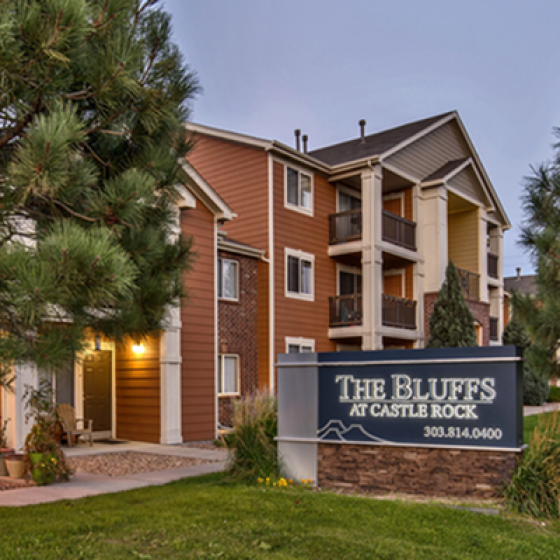 Apartments For Rent Castle Rock Colorado | The Bluffs at Castle Rock