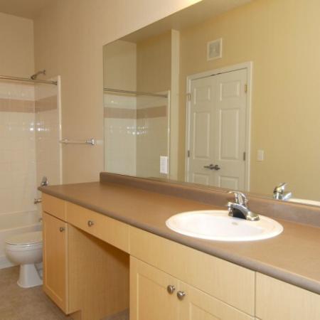 Spacious Bathroom | Thornton Colorado Apartments | Reserve at Thornton III