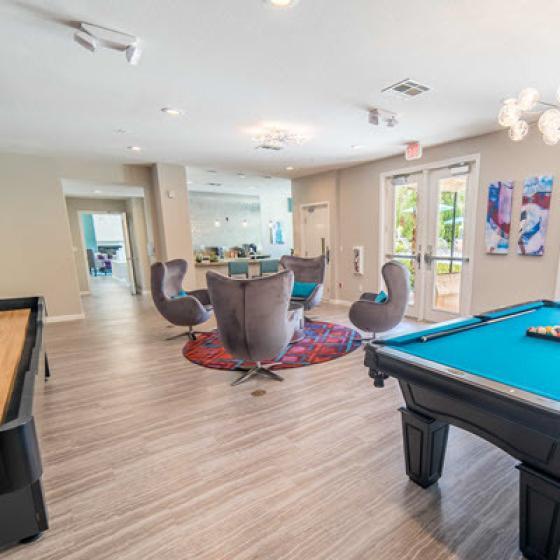 Community Game Room | 3 Bedroom Apartments Henderson Nv | Verona