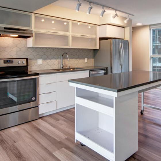 Sylva on Main Apartments Kitchen