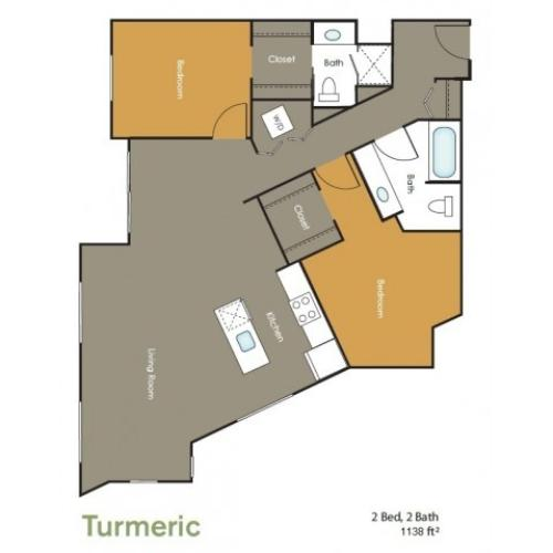 Apartments in Seattle | Turmeric  | Angeline Apartments