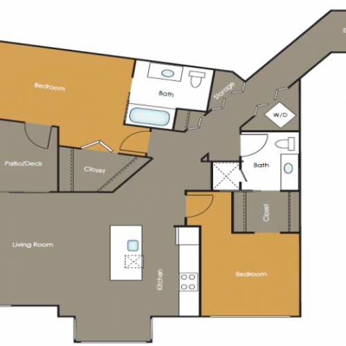 Apartments in Seattle | Saffron | Angeline Apartments