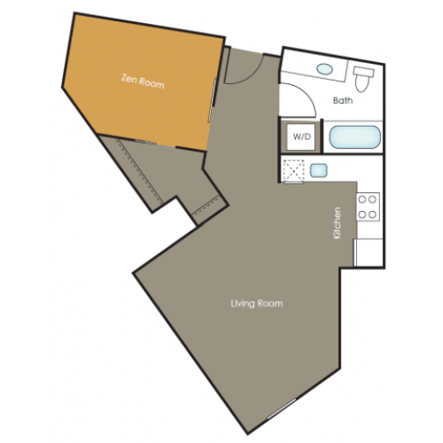 Apartments in Seattle | Anise | Angeline Apartments