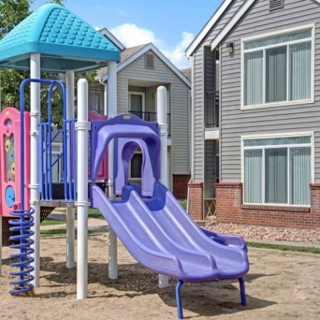 Community Children's Playground   Colorado Springs Apartments   Winfield Apartments