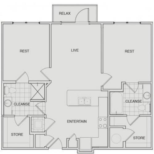 Floor Plan 6 | Apartments For Rent Nashville Tn | Note 16