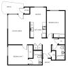 2 Bdrm Floor Plan | Apartments For Rent Portland Oregon | 5819 Glisan