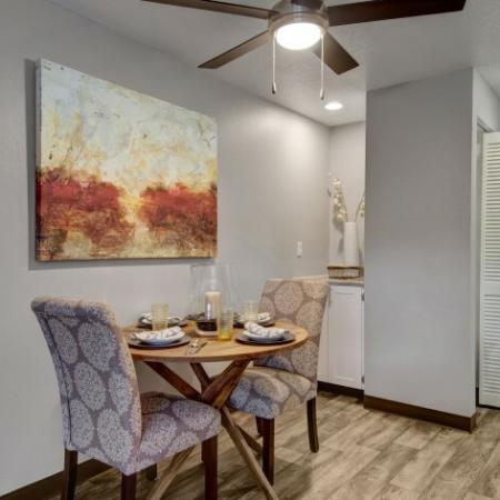 Elegant Dining Room | Beaverton 2 Bedroom Apartments | Arbor Creek