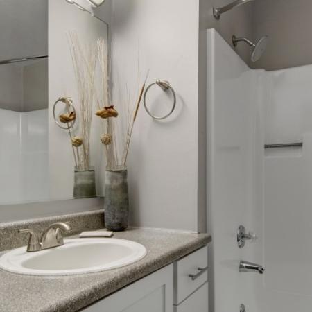 Spacious Bathroom | Apartments For Rent Beaverton | Arbor Creek