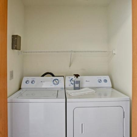 In-home Laundry  | Kennewick Washington Apartments | Heatherstone