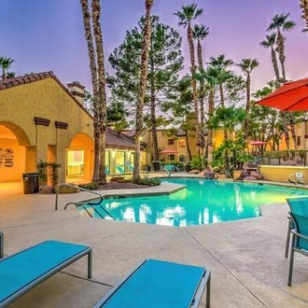 Resort Style Pool | Luxury Apartments For Rent In Henderson Nv | Martinique Bay