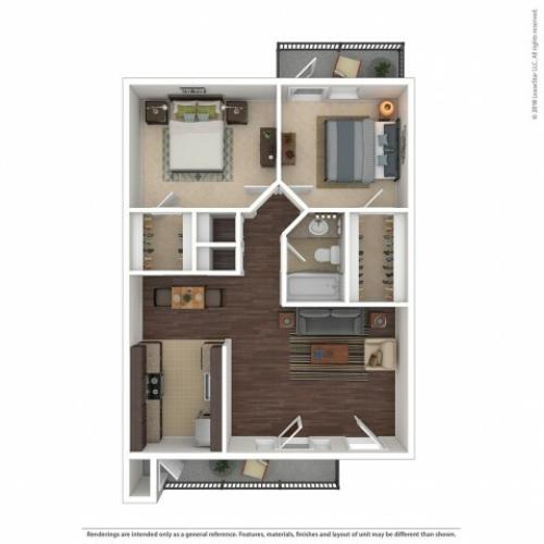 1 Bed / 1 Bath Apartment In Glendale AZ