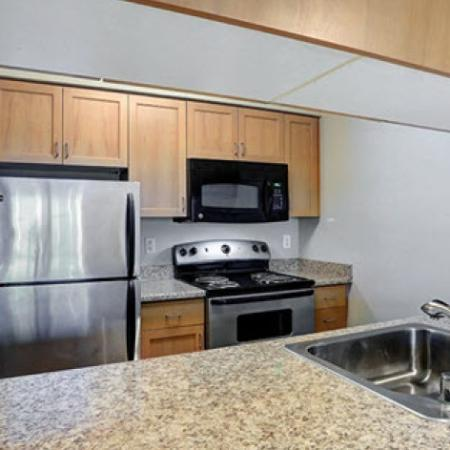 Spacious Kitchen | 2 Bedroom Apartments Seattle | Vantage Park