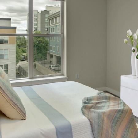 Elegant Bedroom | Seattle Washington Apartments | Vantage Park