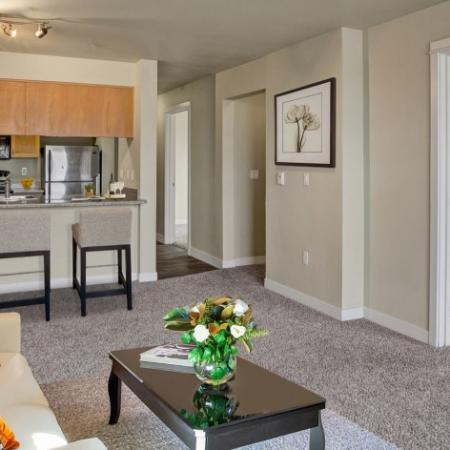 Spacious Living Room | Apartments For Rent In Seattle Wa | Vantage Park
