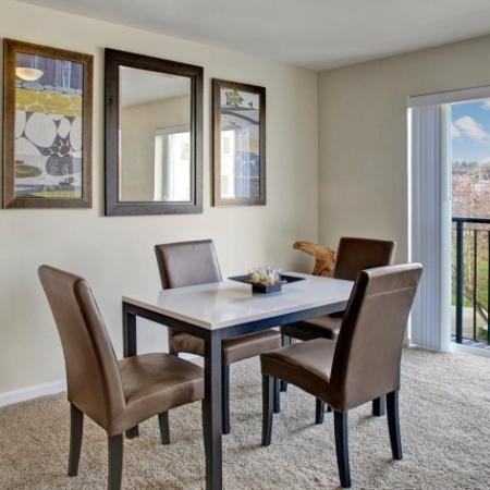 Spacious Dining Room | Dupont Washington Apartments | Trax at DuPont Station