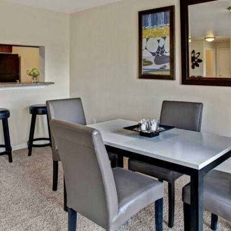 Spacious Dining Area | Dupont Washington Apartments | Trax at DuPont Station