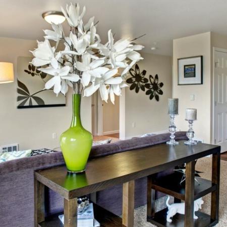 Spacious Living Room | Dupont Washington Apartments | Trax at DuPont Station