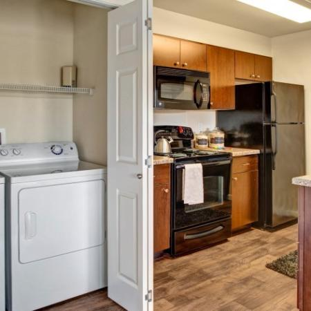 In-home Laundry  | Apartments For Rent In Dupont Washington | Trax at DuPont Station