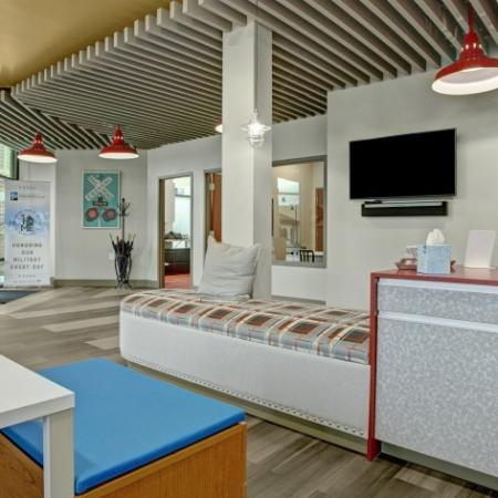 Spacious Resident Club House | Dupont Washington Apartments | Trax at DuPont Station