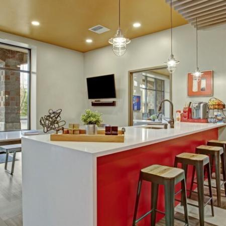Elegant Community Club House | Dupont Wa Apartments | Trax at DuPont Station