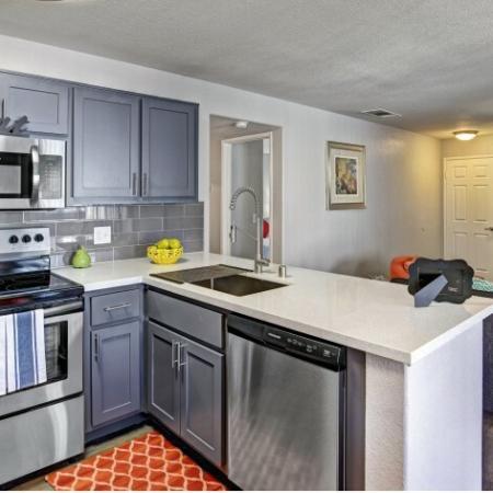 Modern Kitchen | Luxury Apartments In Henderson NV | Martinique Bay
