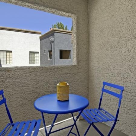 Private Patio or Balconies